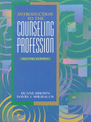 Introduction To The Counseling Profession Book