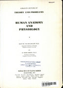 Schaum s Outline of Theory and Problems of Human Anatomy and Physiology