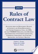 Rules of Contract Law