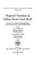 Regional Variation In Indian Ocean Coral Reefs
