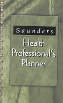 Saunders Health Professional s Planner