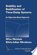 Stability and Stabilization of Time Delay Systems
