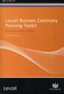 Lexcel Business Continuity Planning Toolkit Book PDF