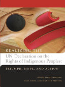 Realizing the UN Declaration on the Rights of Indigenous Peoples Book