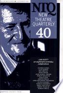 New Theatre Quarterly 40: Volume 10, Part 4
