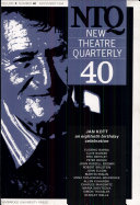 New Theatre Quarterly 40  Volume 10  Part 4