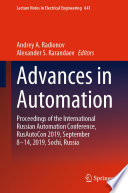 Advances in Automation