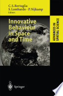 Innovative Behaviour in Space and Time Book