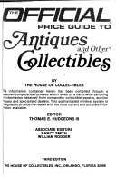 The Official Price Guide to Antiques and Other Collectibles Book