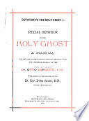 Special Devotion To The Holy Ghost