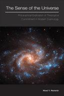 Pdf The Sense of the Universe Telecharger
