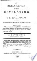 An Explanation Of The Revelation Of St John The Divine Etc