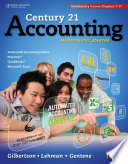 Century 21 Accounting Multicolumn Journal Introductory Course Chapters 1 17 PDF