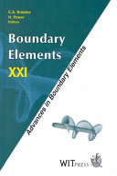 Boundary Elements XXI Book