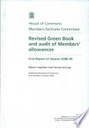 Revised Green Book and Audit of Members Allowances Book