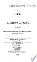 A Brief Narrative of the Life of Gilbert Latey Pdf/ePub eBook