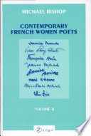 Contemporary French Women Poets  From Hyvrard and Baude to   tienne and Albiach