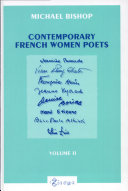 Pdf Contemporary French Women Poets: From Hyvrard and Baude to Étienne and Albiach Telecharger