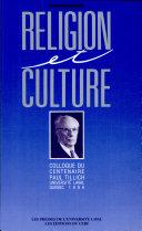 Pdf Religion et culture Telecharger