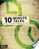 10-Minute Talks