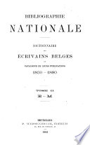 Bibliographie nationale: E-M. 1892