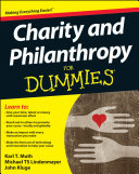 Charity and Philanthropy For Dummies Pdf/ePub eBook