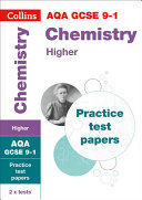 AQA GCSE 9-1 Chemistry Higher Practice Test Papers