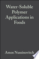 Water Soluble Polymer Applications in Foods