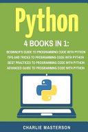 Python  4 Books in 1