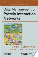 Data Management of Protein Interaction Networks Book