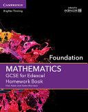 GCSE Mathematics for Edexcel Foundation Homework Book
