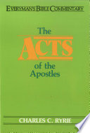 Acts Of The Apostles Everyman S Bible Commentary