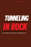 Tunneling in Rock [Pdf/ePub] eBook