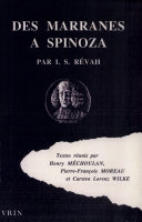 Des marranes à Spinoza