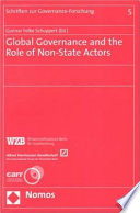 Global Governance and the Role of Non-state Actors