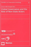 Global Governance and the Role of Non state Actors