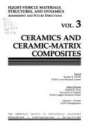 Ceramics and Ceramic-matrix Composites