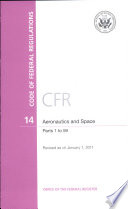 Code Of Federal Regulations Title 14 Aeronautics And Space