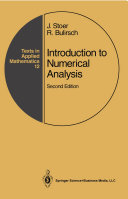 Introduction to Numerical Analysis