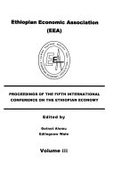Proceedings of the Fifth International Conference on the Ethiopian Economy Book