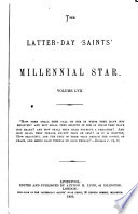 The Latter Day Saints  Millennial Star
