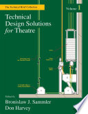 Technical Design Solutions for Theatre Book PDF