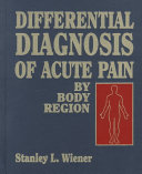 Differential Diagnosis of Acute Pain