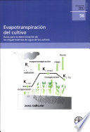 Evapotranspiracion Del Cultivo