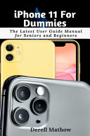 IPhone 11 For Dummies