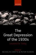 The Great Depression of the 1930s Pdf/ePub eBook