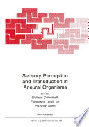 Sensory Perception and Transduction in Aneural Organisms Book
