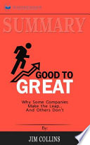 Summary of Good to Great