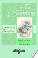 Tea and Ceremony Pdf/ePub eBook