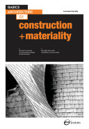 Basics Architecture 02  Construction   Materiality
